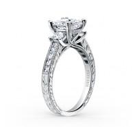 Kirk Kara  K1361DE-R Engagement Ring