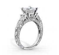 Kirk Kara  K1383-R Engagement Ring