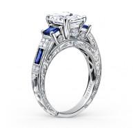 Kirk Kara  K1384SDE-R Engagement Ring