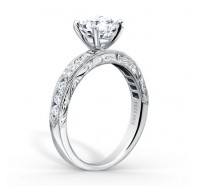 Kirk Kara  K1390D-R Engagement Ring