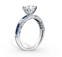 Kirk Kara  K1390SD-R Engagement Ring