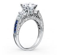 Kirk Kara  K1390SDE-R Engagement Ring