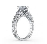 Kirk Kara  K1420DC-R Engagement Ring