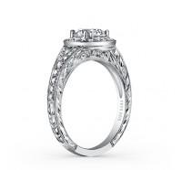 Kirk Kara  K1440DC-R Engagement Ring