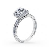 Kirk Kara  K1450DC-R Engagement Ring