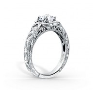 Kirk Kara  K149C6R Engagement Ring