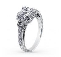 Kirk Kara  K150C6S Engagement Ring