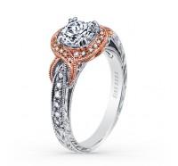 Kirk Kara  K150R65RWR Engagement Ring