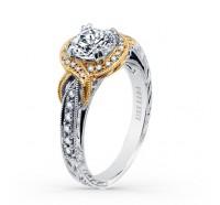 Kirk Kara  K150R65RWY Engagement Ring