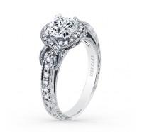 Kirk Kara  K150R65R Engagement Ring