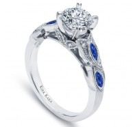 Kirk Kara  K155BDR Engagement Ring