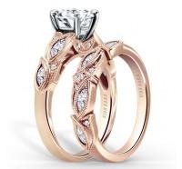 Kirk Kara  K155R Engagement Ring