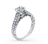 Kirk Kara  K160ER Engagement Ring