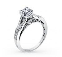 Kirk Kara  K162R Engagement Ring