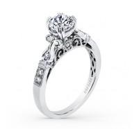 Kirk Kara  K163R Engagement Ring