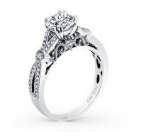 Kirk Kara  K165R Engagement Ring