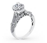 Kirk Kara  K166RL Engagement Ring