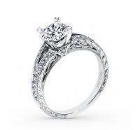 Kirk Kara  K168ER Engagement Ring