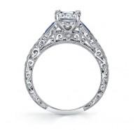 Kirk Kara  K170BDS Engagement Ring