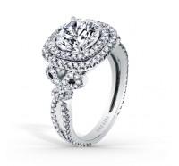 Kirk Kara  K172C8R Engagement Ring