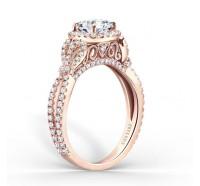 Kirk Kara  K174C65RR Engagement Ring