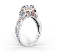 Kirk Kara  K174C65RWR Engagement Ring