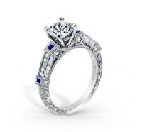 Kirk Kara  K175SD-R Engagement Ring