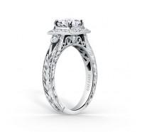 Kirk Kara  K183C65R Engagement Ring