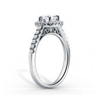 Kirk Kara  K184C6R Engagement Ring