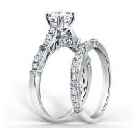Kirk Kara  K196-B Wedding Ring