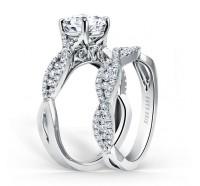 Kirk Kara  K199-B Wedding Ring