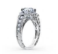 Kirk Kara  K250R8R Engagement Ring