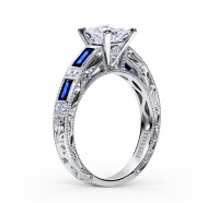 Kirk Kara  SS6685-R Engagement Ring