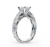 Kirk Kara  SS6685D-R Engagement Ring