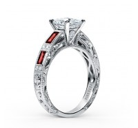 Kirk Kara  SS6685R-R Engagement Ring