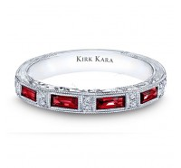 Kirk Kara  SS6685RB Wedding Ring