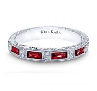 Kirk Kara  SS6685RB Wedding Ring