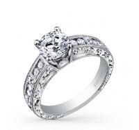 Kirk Kara  SS6726-R Engagement Ring
