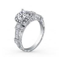 Kirk Kara  SS6757-R Engagement Ring
