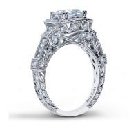 Kirk Kara  SS6757AR Engagement Ring