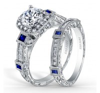 Kirk Kara  SS6757S-R Engagement Ring