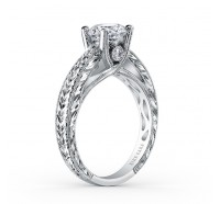 Kirk Kara  SS6765-R Engagement Ring