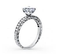 Kirk Kara  SS6766-R2 Engagement Ring