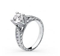 Kirk Kara  SS6766-R Engagement Ring