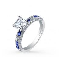 Kirk Kara  SS6852SA-R Engagement Ring
