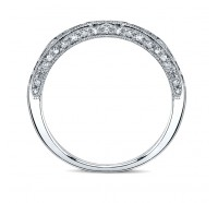 Kirk Kara  SS6852SB Wedding Ring
