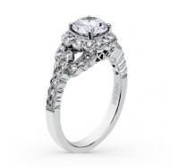 Kirk Kara  SS6954-R Engagement Ring