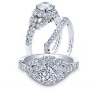 Kirk Kara  SS6954-B Wedding Ring