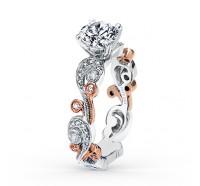 Kirk Kara  SS6967P-RS Engagement Ring