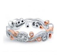Kirk Kara  SS6967P-BS Wedding Ring